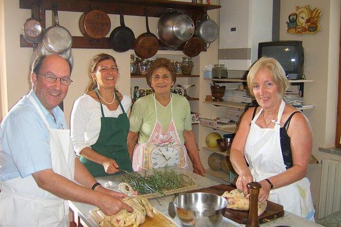 Cooking class in Cortona