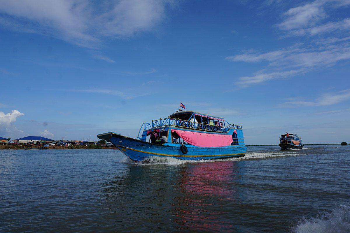 한국어가이드 동남아 최대 호수 톤레삽에서 일몰구경하기 멋진 추억을 선사합니다 그룹