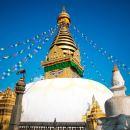 加德滿都杜巴廣場+猴廟+帕斯帕提那寺+博達哈  大佛塔包車一日遊