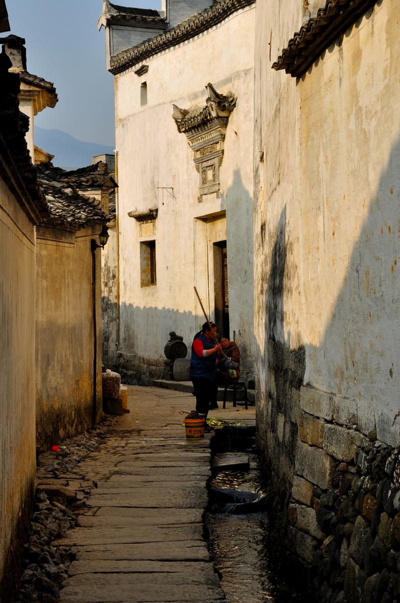 홍춘 & 시디 & 툰시 옛 거리 프라이빗 일일 투어