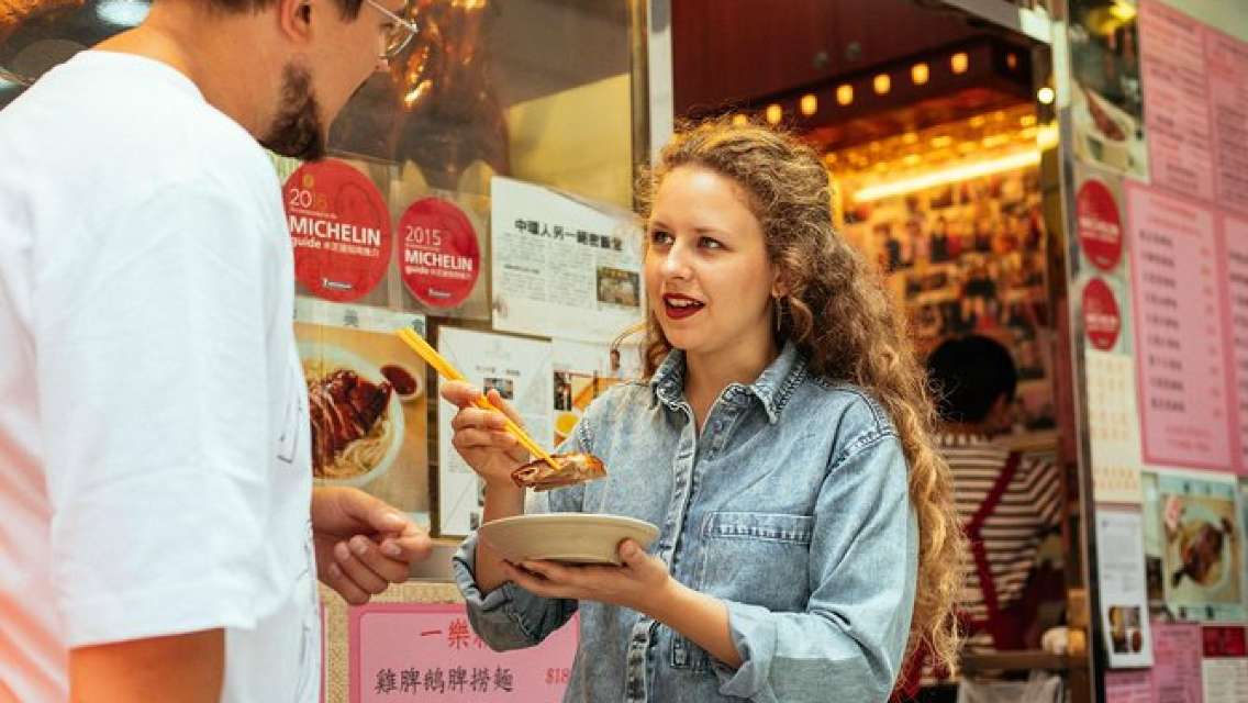 Night Market and Street Food Private Tour in Hong Kong