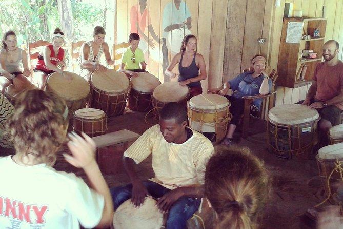 Family Fun Indigenous Garifuna Drumming Lesson