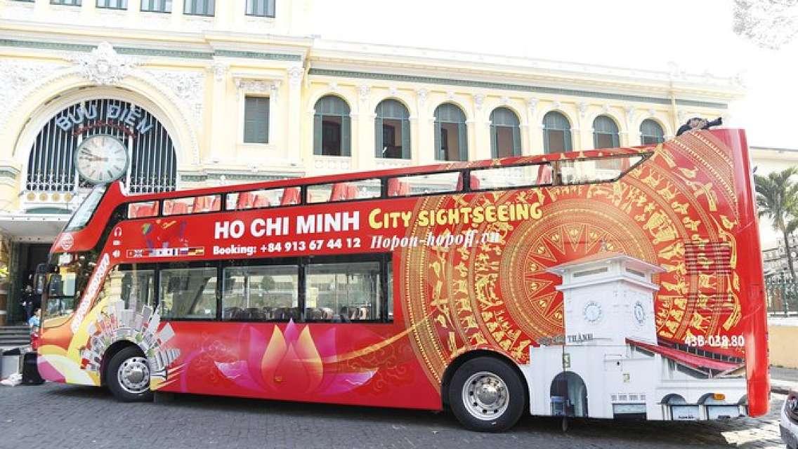 24H Ho Chi Minh City HOP-ON HOP-OFF RED BUS TOUR