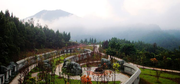 The Tiangong Hall Fengshui Culture Scenic Area