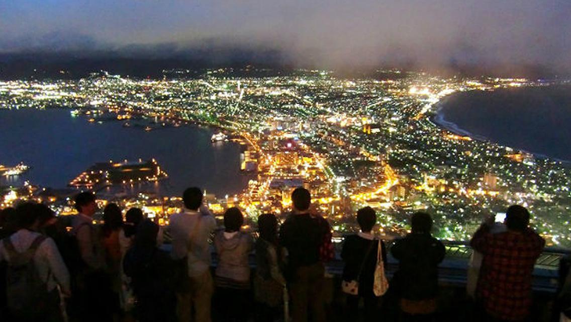 【函館・観光タクシー】夜の函館をお手軽に!モーモーナイトクルーズ