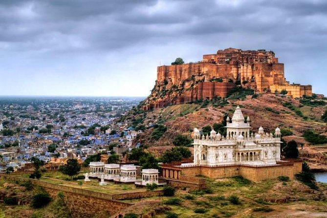 Full-Day City Tour of Jodhpur visit Mehrangarh Fort and Jaswant Thada
