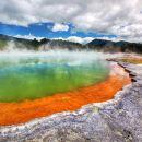 Tauranga Shore Excursion: Rotorua Wai-O-Tapu Wonderland plus Maori Village