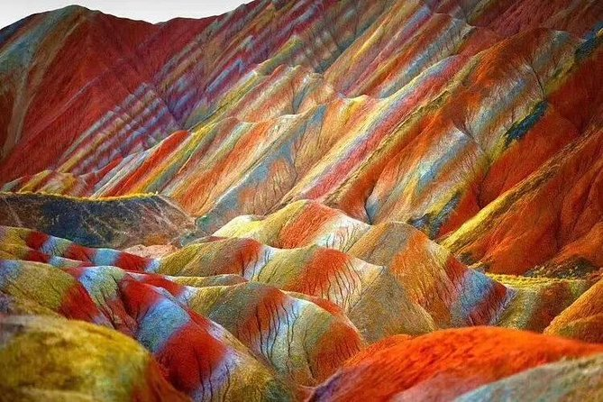 Private Tour of Zhangye Danxia Geopark