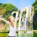 貴州黃果樹瀑布+陡坡塘瀑布+天星橋風景區一日遊(市區一環上門接 旅遊三寶礦泉水)