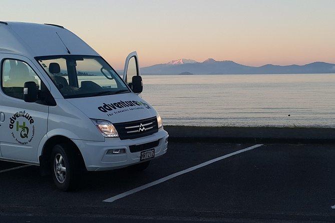 Tongariro Alpine Crossing Shuttle - Taupo NZ