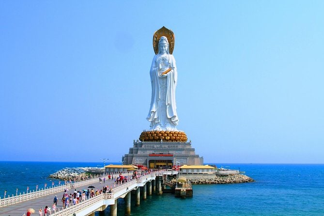 Sanya Half Day Private Tour of Nanshan Buddhism Culture Park