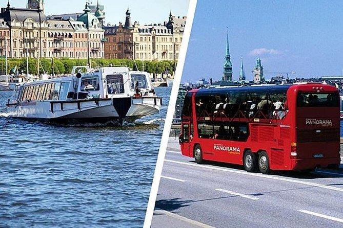 Stockholm Panorama & Under the Bridges of Stockholm