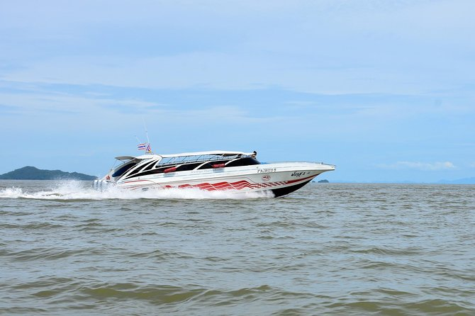 Koh Lanta to Koh Lipe by Shared Minivan & Satun Pakbara Speed Boat in Low Season