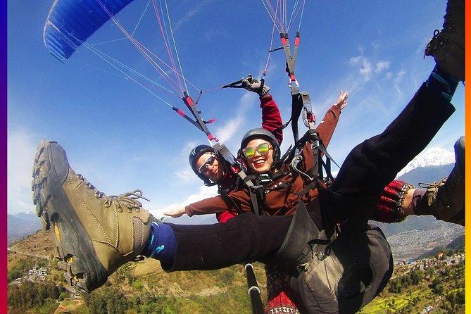Paragliding (30 min. flight)