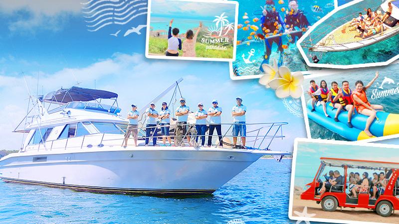 巴厘島藍夢島+佩妮達島雙島浮潛遊艇/快艇一日遊(舒適遊艇 免費網紅玻璃船拍照)