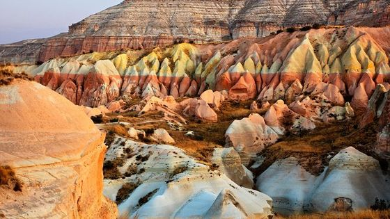 Cappadocia Full-Day Tour from Istanbul: Underground City, Red and Rose Valley
