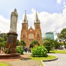 Ho Chi Minh City Half Day Sightseeing Tour with optional lunch ( English speaking guide)