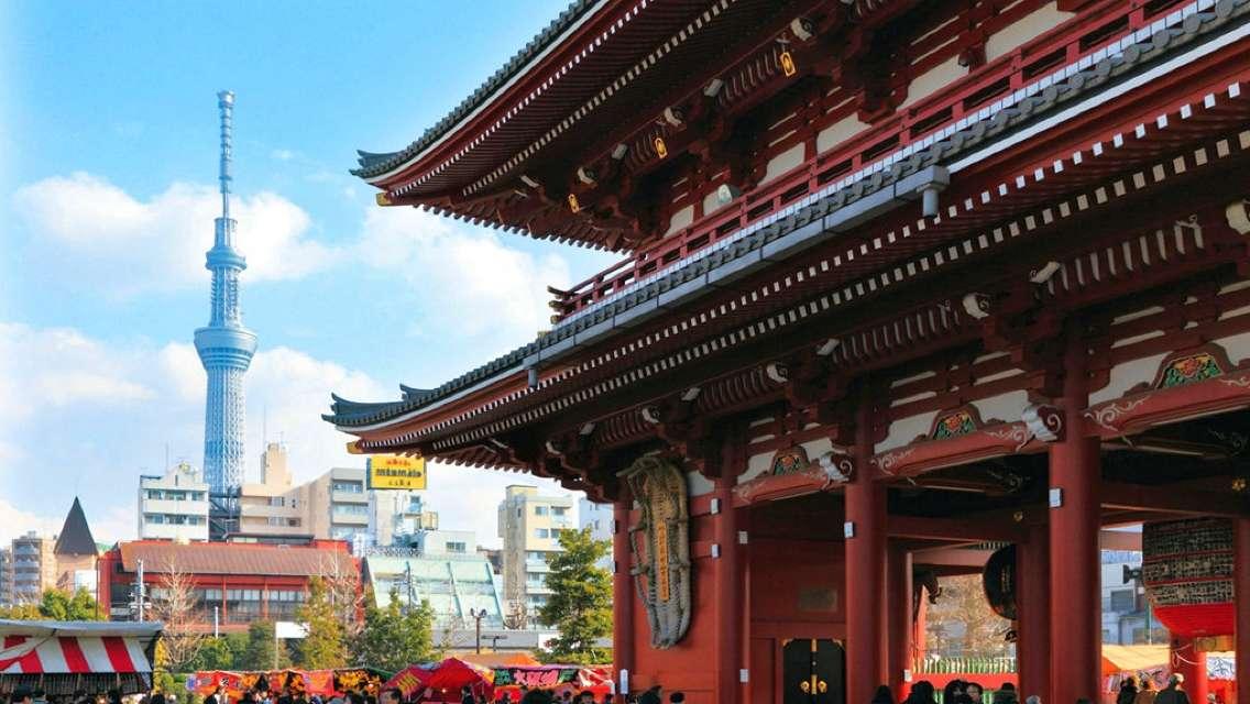 Tokyo, Meiji Jingu Shrine+ Imperial Palace + Asakusa + Ginza + Odaiba Day Tour