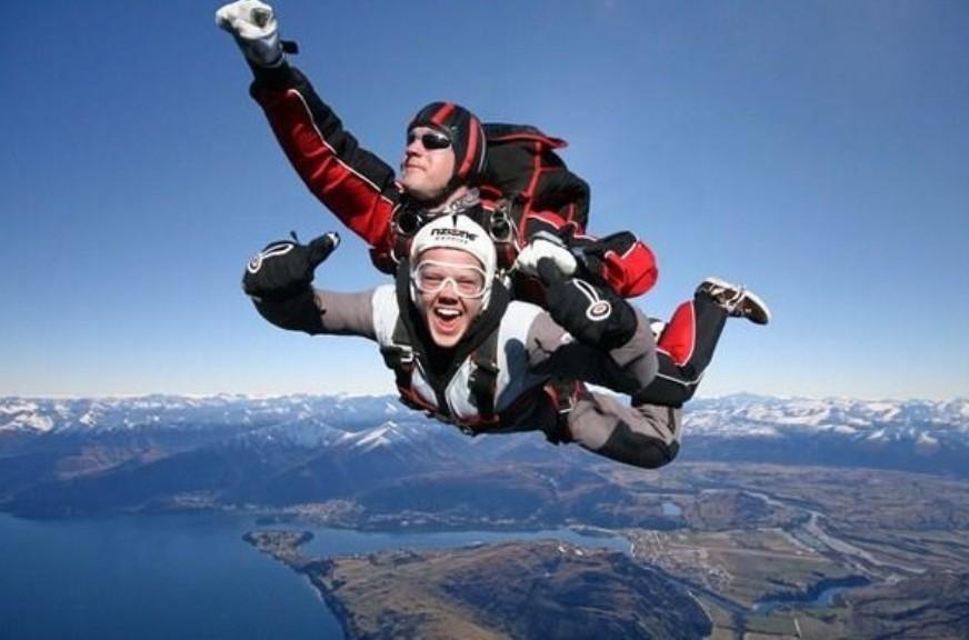 (往返接送+跳傘證書+ 急速出單)新西蘭皇后鎮跳傘 皇后鎮NZONE高空跳傘