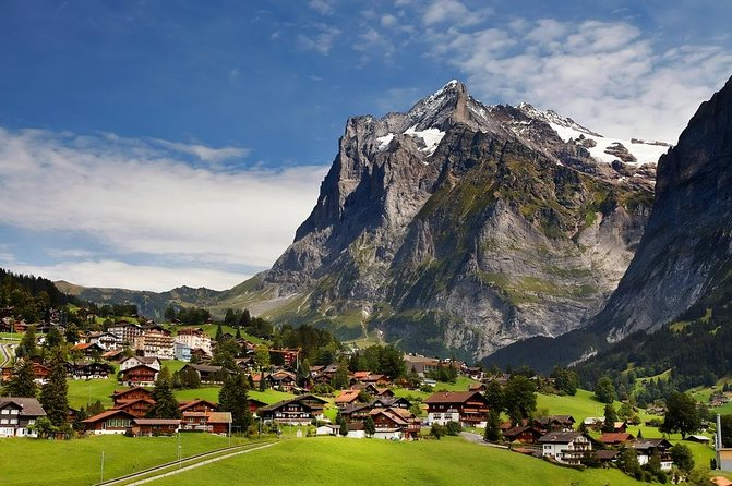 Interlaken Grindelwald in the Bernese Oberland from Zurich