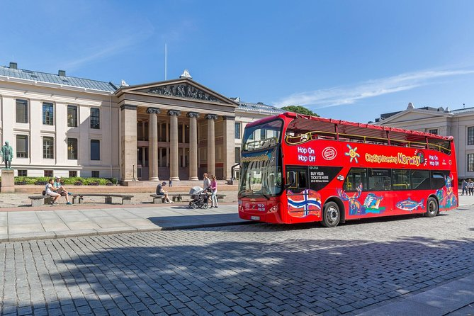 Oslo Shore Excursion: City Sightseeing Oslo Hop-On Hop-Off Bus Tour