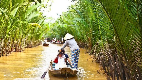 Mekong Delta Guided Tour from Ho Chi Minh city with Vinh Trang Pagoda & Lunch
