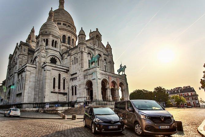 パリの貸し切り車による送迎:パリ=シャルル・ド・ゴール空港(CDG)、もしくはパリ=オルリー空港(ORY)