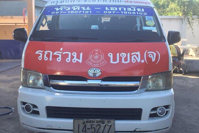 Standard Minivan: Hua Hin to Bangkok