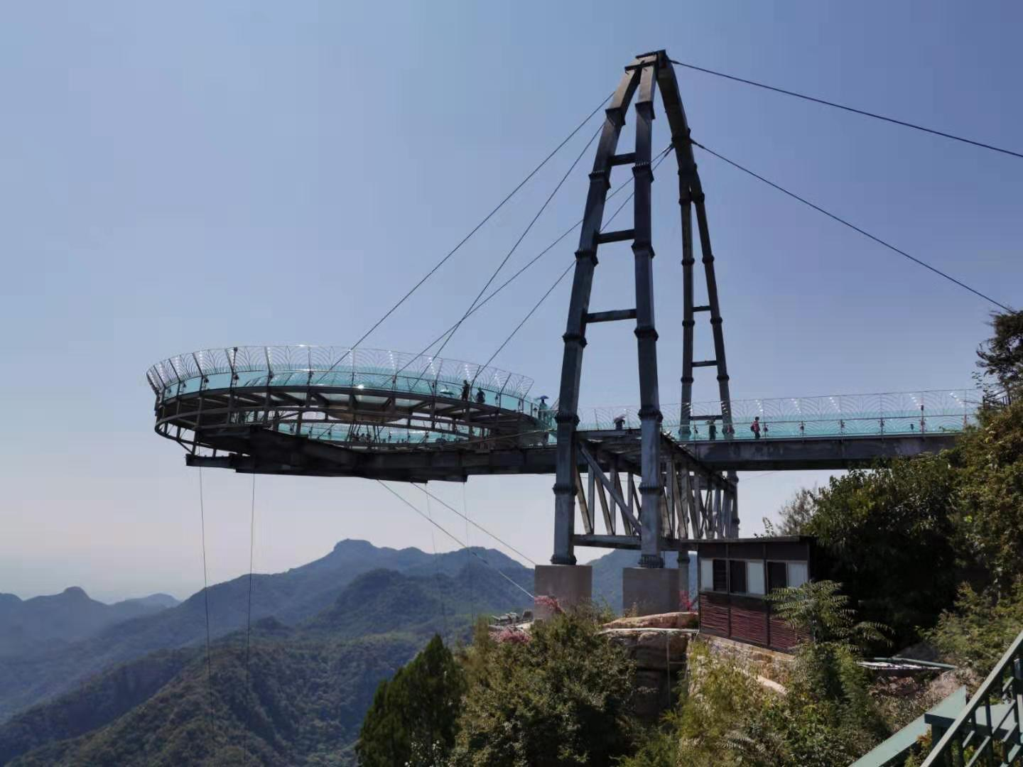 Shilin Gorge and Glass Platform (UFO) Exploring Private Day Tour