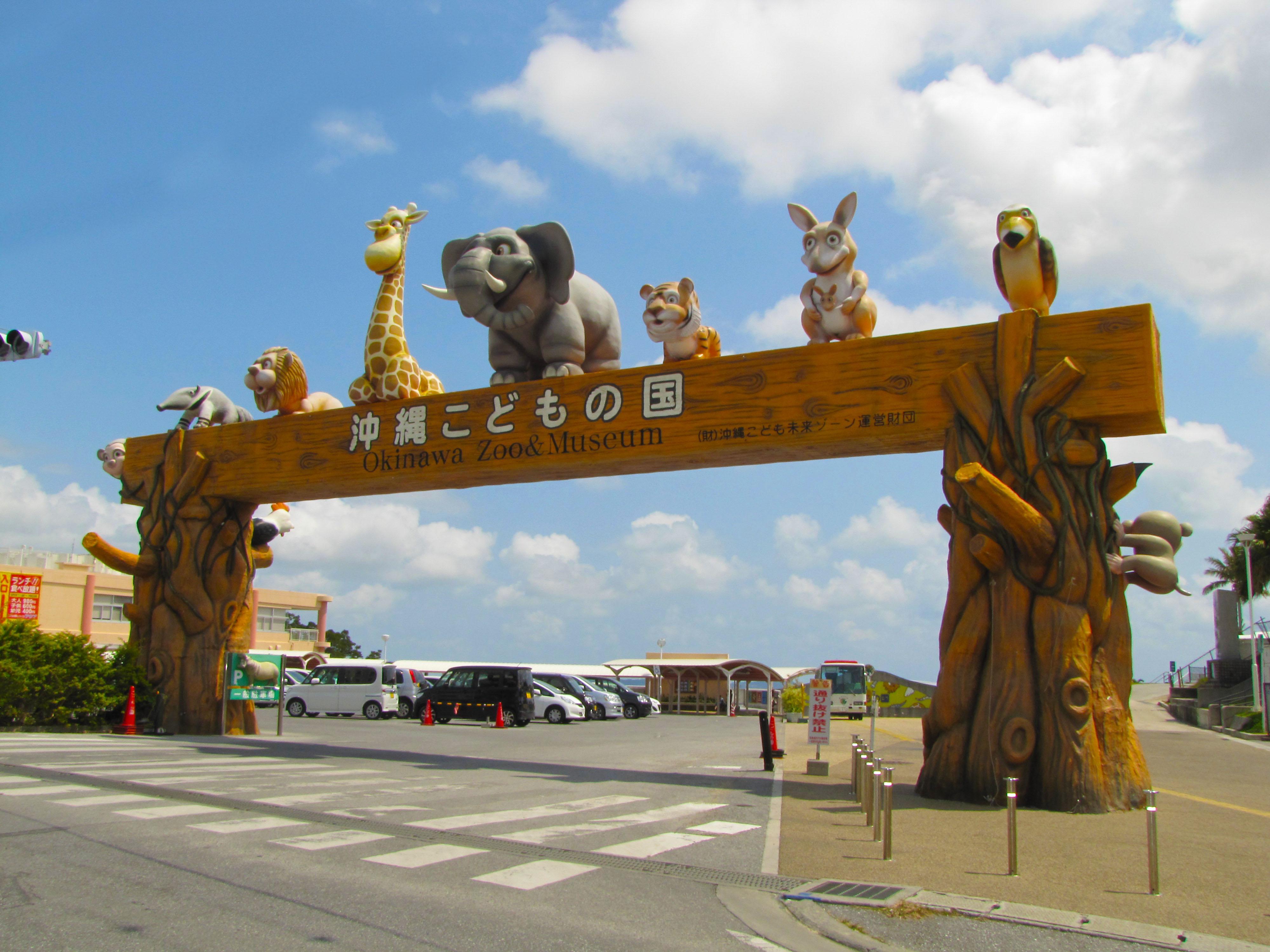 오키나와 어린이 나라 입장권