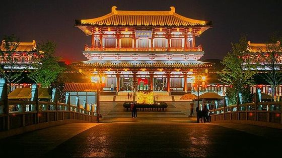 3-Hour Xi'an Evening Private Tour of Tang Paradise