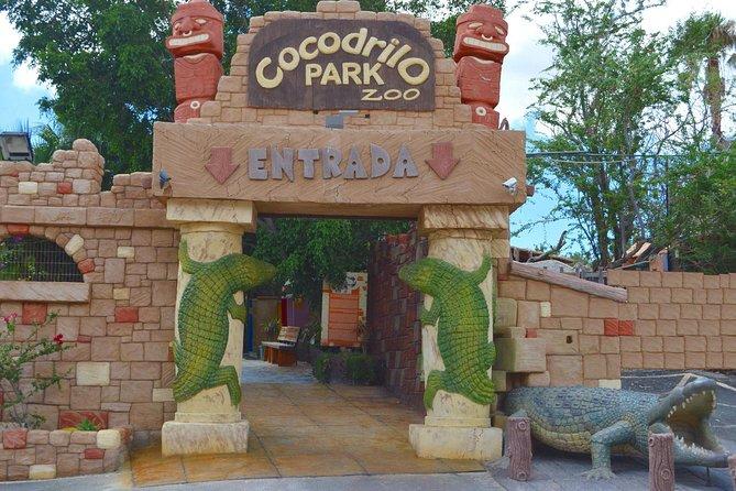 Ticket to Agüimes Cocodrilo Park Zoo from Gran Canaria