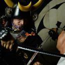 Samurai Armor Photo Shoot in Shibuya