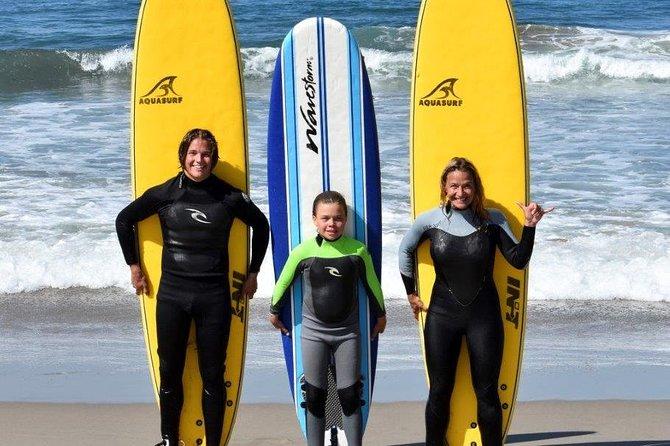 Surf Lesson in Malibu Beach, Including Equipment