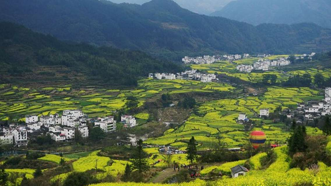 Wuyuan Scenic Area Private Tour from Shanghai by Train