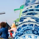 Zaanse Schans Windmills & Delft and The Hague Day Trip with Free 1-Hour Cruise