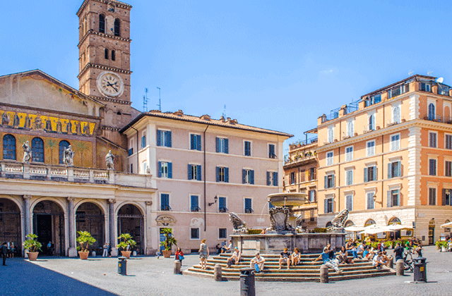 로마 시내 맛집 투어 (피자 + 젤라또 맛집 방문)