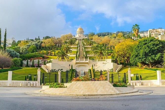 Caesarea, Haifa, Rosh Hanikra, and Acre Tour from Jerusalem
