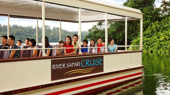 Singapore River Safari Ticket