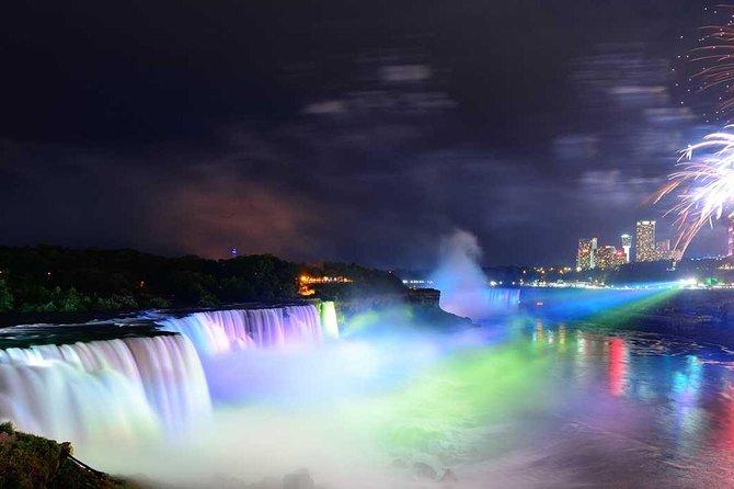 Discovery Niagara Falls USA Evening Illumination and Night Light show Tour