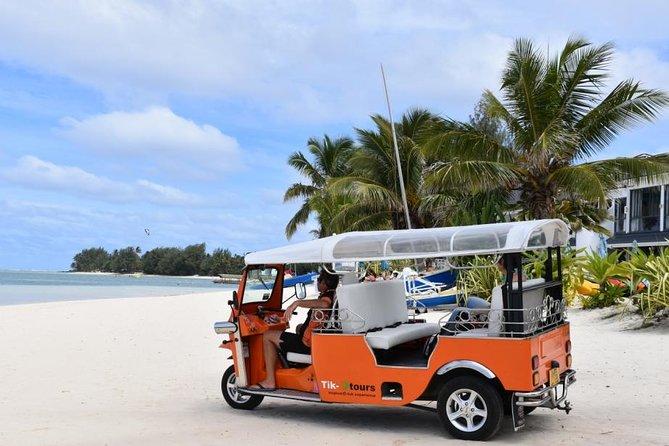 3-hour Rarotonga Island Tour by Electric Tuk Tuk