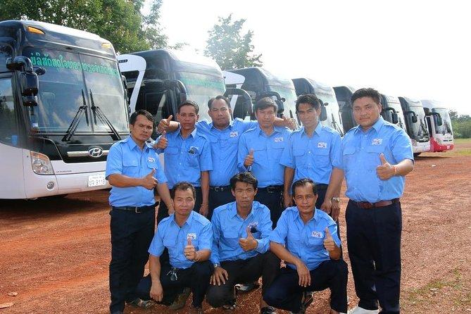 Tourist Bus: Vang Vieng to Vientiane