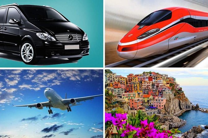 Private Transfer: from Rome (hotel-airport-railway station) to Positano (hotel)