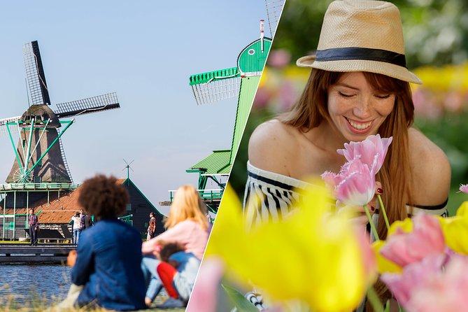 Amsterdam Super Saver: Countryside & Windmills + Keukenhof Gardens Combo