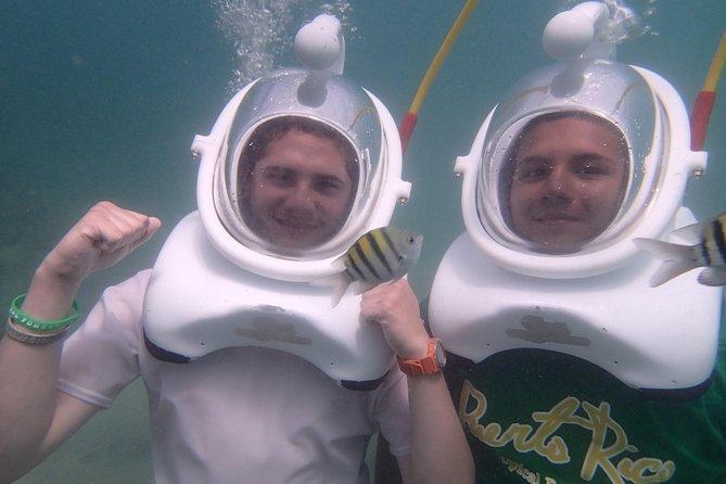 Underwater Sea Trek in San Juan