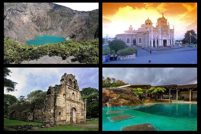 VIP Private Tour: Cartago City Highlights, Irazu Volcano and Hot Springs