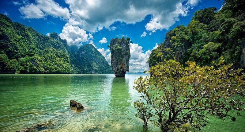 Day tour of 007 Island Speedboat, Land of Idyllic Beauty
