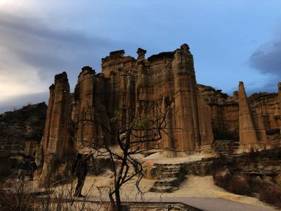 The Wumao Rock Forest (Hutiaoxia [Tiger Leaping Beach] Rock Forest)