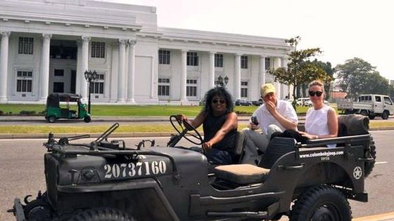 Private Tour of Colombo in a World War II Jeep