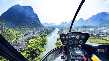 阳朔直升飞机